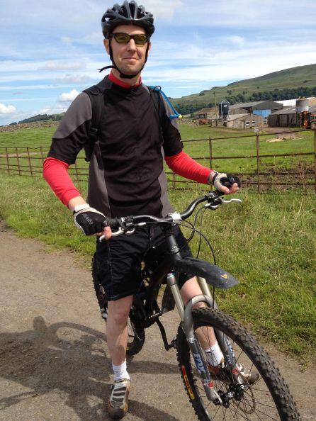 Me On My Mountain Bike Again!