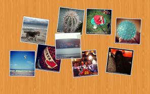 A Postcard Pile