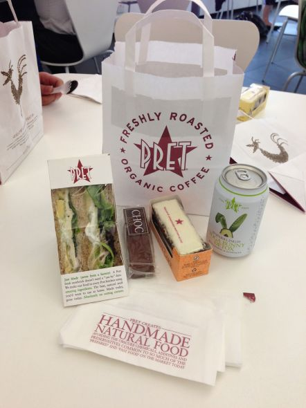 The Full Pret Lunch