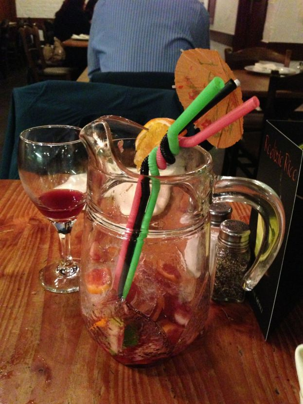 A Drunk Pitcher Of Sangria