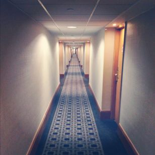 Hotel Corridors Go On For Ever