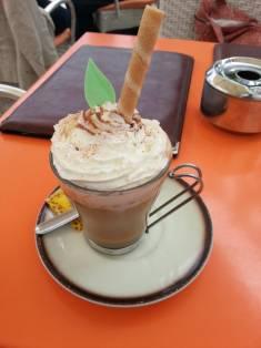 Cappuccino and cream?