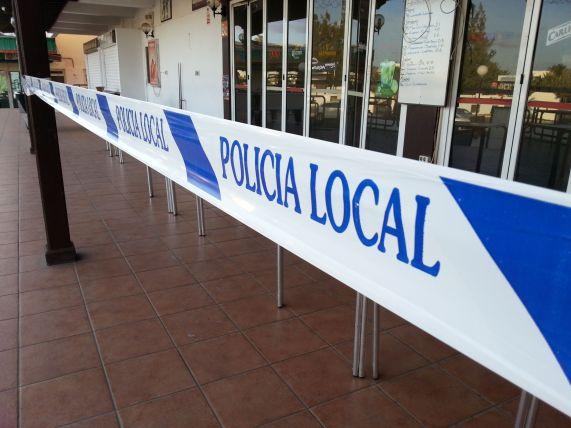 Police line, do not cross!