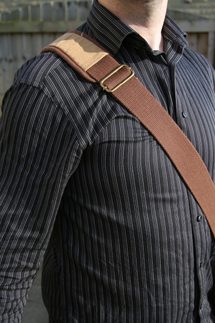 A Chunky Shoulder Strap And Pad