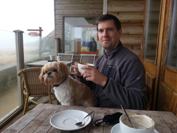 Lap, Dog, Coffee, Me