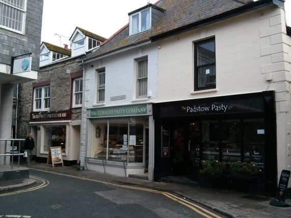 3 Cornish Pasty Shops