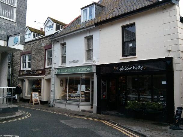 3 Cornish Pasty Shops