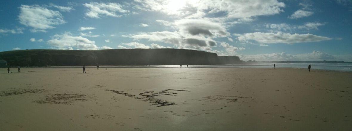 A Beach Panorama