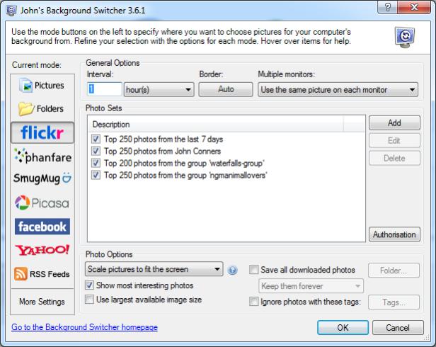 The JBS 3.6 User Interface