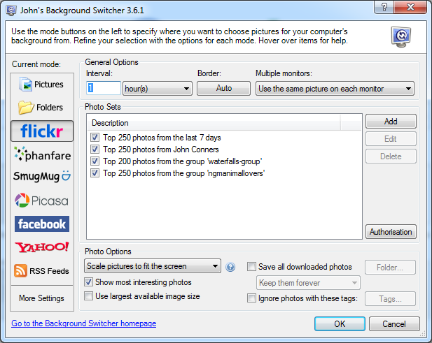 The JBS 3.6 User Interface