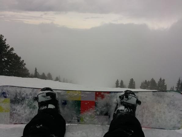 A Short Break In The Clouds