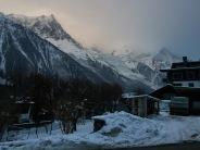 The Mont Blanc Glacier