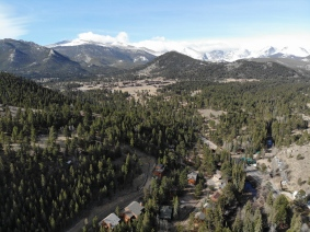 The views of the Rocky Mountains