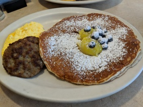 First food in the US - pancakes!