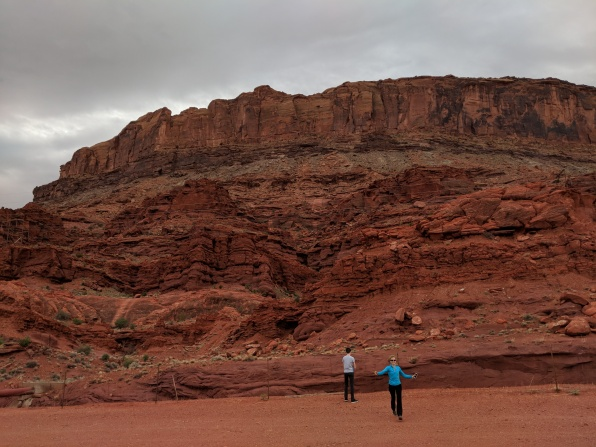 Some very very red rock!