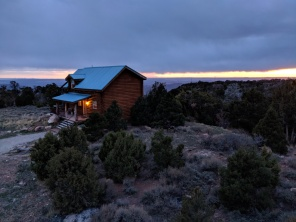 Our cabin near Moab, Utah