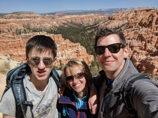 A cheesy selfie in Bryce Canyon