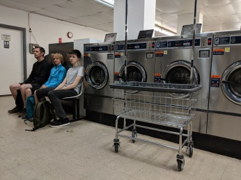 When in Vegas, go to the laundrette