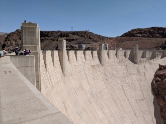 Hoover Dam - not as impressive after seeing all the national parks
