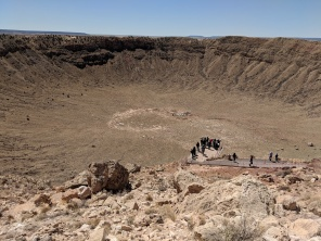 Always wanted to see this meteor crater since I was a kid
