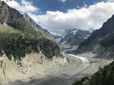 The Mer de Glace in 2017