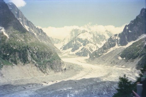 The Mer de Glace in 1995